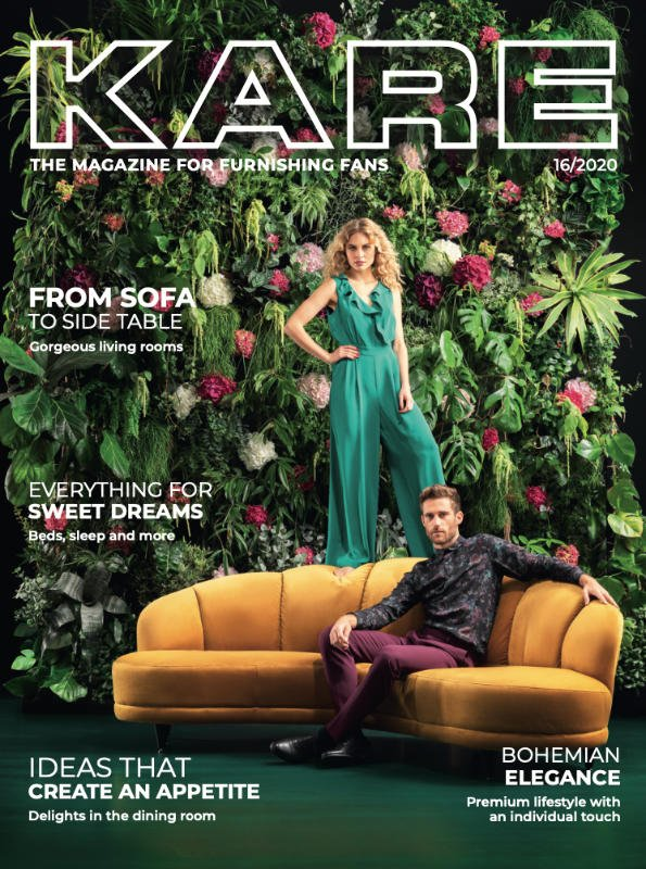 Kare the magazine for furnishing fans