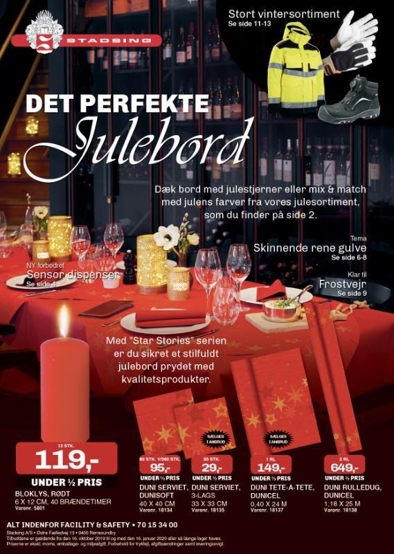 Det perfekte julebord fra Stadsing magasin