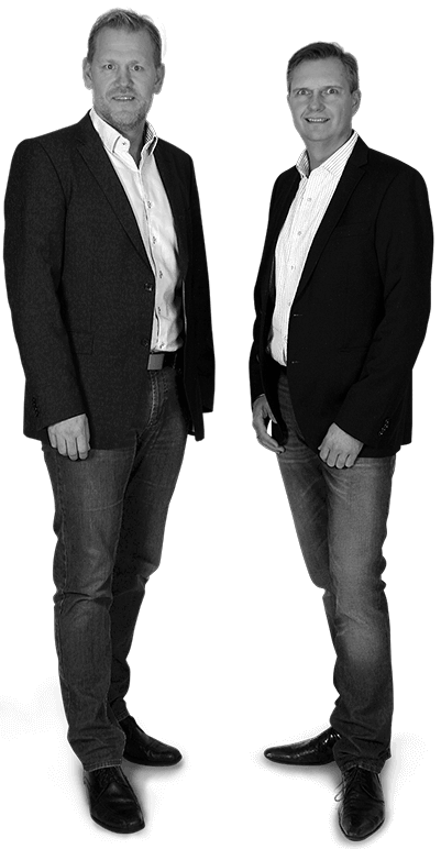 Torben Albrektsen og Peter Blok