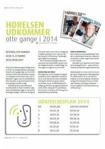 Hørelsen Udgivelsesplan 2014